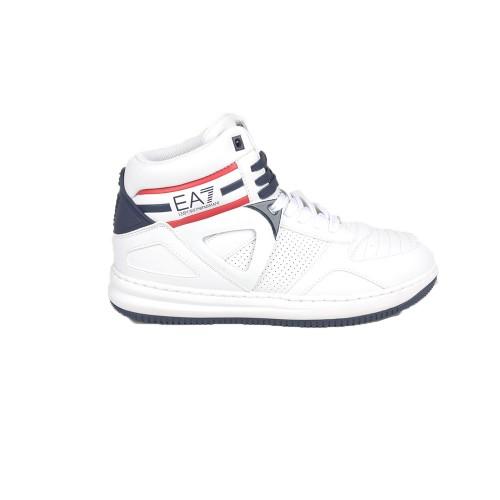 Sneakers Altas EA7 Emporio Armani X8Z008 XK130 Color Blanco