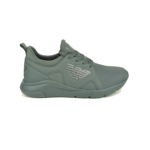 Sneakers EA7 Emporio Armani X8X056 XK169 Colore Kaki