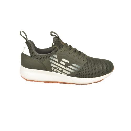 Sneakers EA7 Emporio Armani X8X023 XK030 Colore Kaki