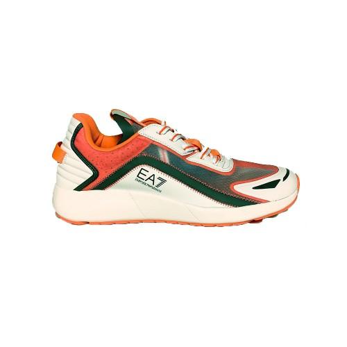 Sneakers EA7 Emporio Armani X8X077 XK188 Color Blanco y...