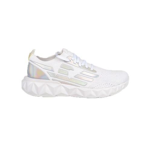 Sneakers EA7 Emporio Armani X8X048 XK202 Colore Bianco