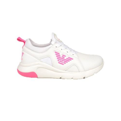 Sneakers EA7 Emporio Armani X8X056 XCC56 Colore Bianco e...