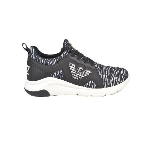 Sneakers EA7 Emporio Armani X8X056 XK139 Color Negro