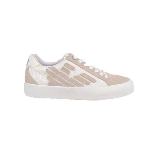 Sneakers EA7 Emporio Armani X8X037 XK128 Colore Beige y...