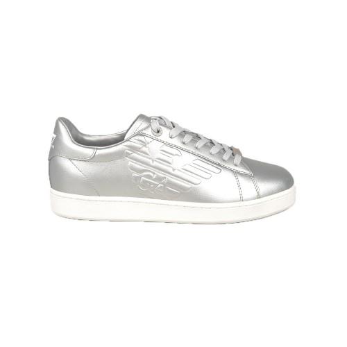 Sneakers  EA7 Emporio Armani X8X001 XCC01 Color Plata