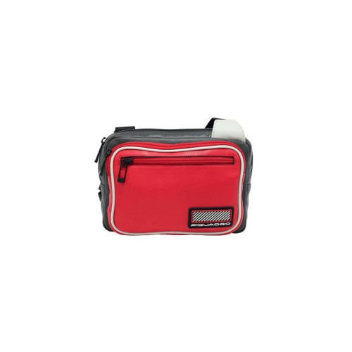 Bandolera de Piel Piquadro CA5143W106/R Color Rojo