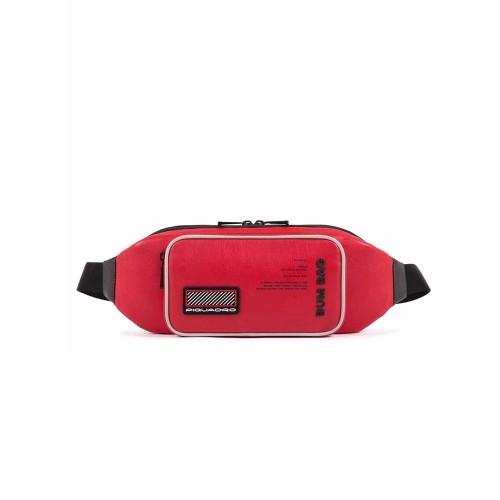 Riñonera de Piel Piquadro CA5150W106/R Color Rojo