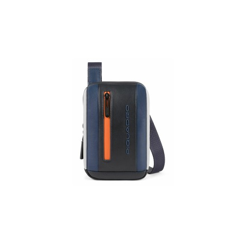 Borsa a Tracolla in Pelle Piquadro CA5088UB00/BGRN Colore...