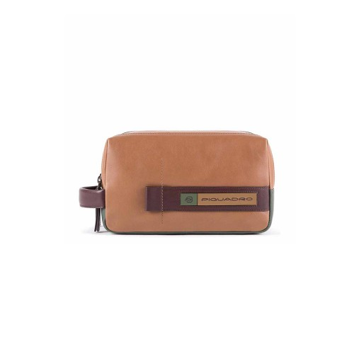Neceser in Pelle Piquadro BY5011W105/BEVE Colore Pelle