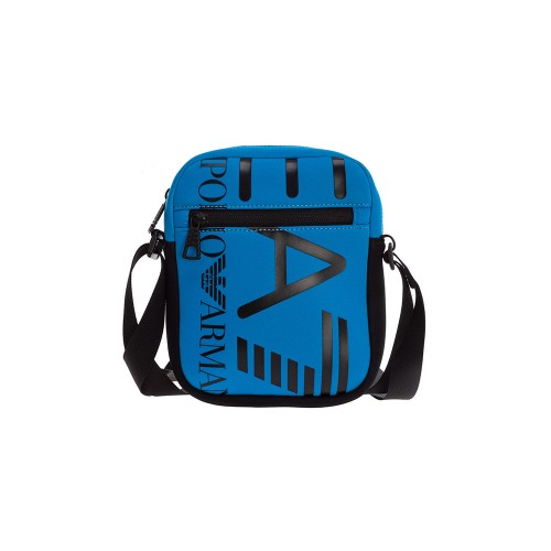 Bandolera EA7 Emporio Armani 276135 Color Azul y Negro