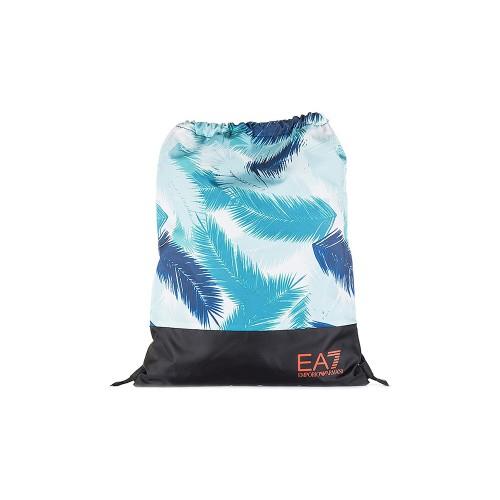 Mochila EA7 Emporio Armani 285421 Color Negro y Azul