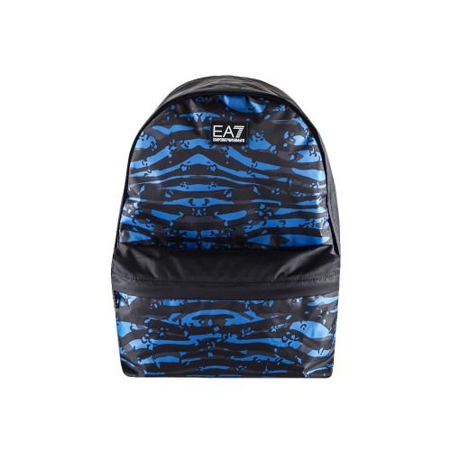 Mochila EA7 Emporio Armani 275879 Color Negro y Azul