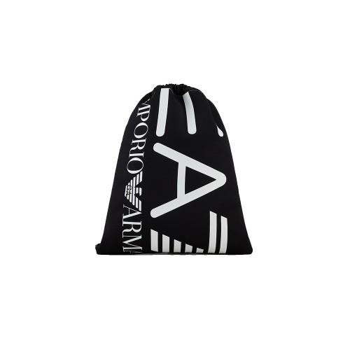Mochila EA7 Emporio Armani 276136 Color Negro Maxilogo