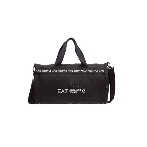 Bolsa de Gym EA7 Emporio Armani 275966 Color Negro