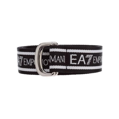 Cinturón Emporio Armani EA7 245034 Color Negro y Blanco