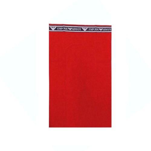 Toalla de Playa EA7 Emporio Armani 211770 1P447 Color Rojo