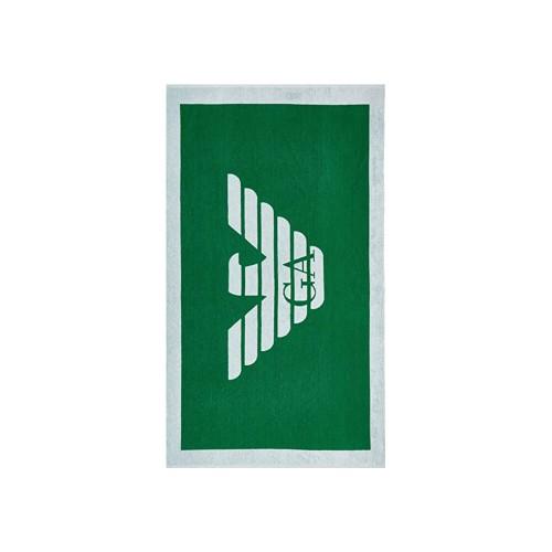 Toalla de Playa EA7 Emporio Armani 211772 0P445 Color Verde