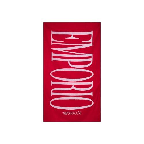 Toalla de Playa EA7 Emporio Armani 262518 1P339 Color Rojo