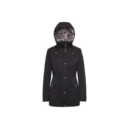 Long Jacket GEOX W1221L ROOSE Color Black