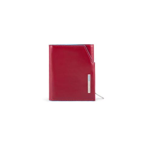 Cartera Pequeña de Piel Piquadro PU5114B2R/R Color Rojo