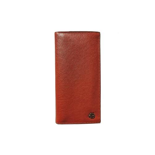 Vertical Leather Wallet Piquadro PU5245B3R/CU Color Cuero