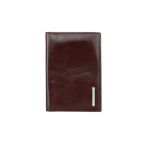 Leather Passport Cover Piquadro PP5255B2/MO Color Brown