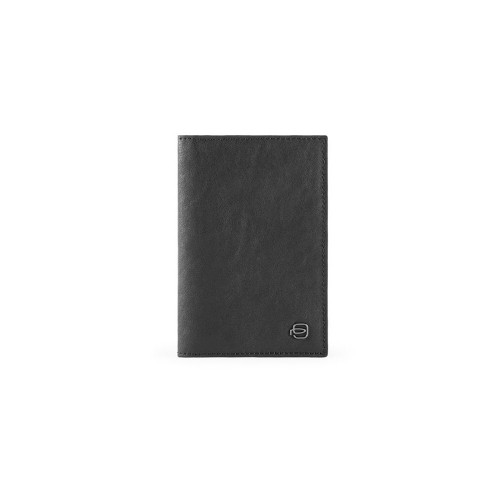 Leather Passport Cover Piquadro PP5255B3/N Color Black