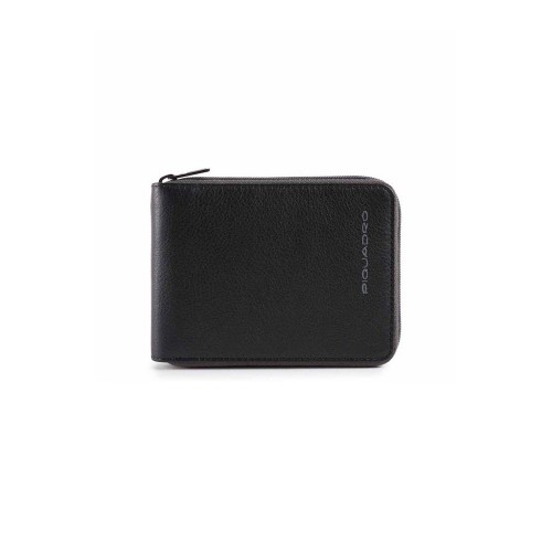 Leather Wallet Piquadro PU5168W106R/N Color Black