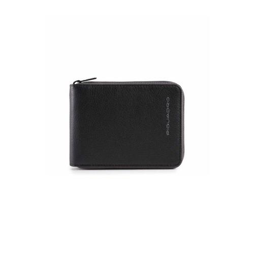 Portafoglio in Pelle Piquadro PU5168W106R/N Colore Nero