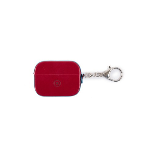 Estuche para AirPods de Piel Piquadro AC5308B2/R Color Rojo