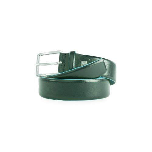 Cinturón de Piel Piquadro CU5258B2/VE6 Color Verde