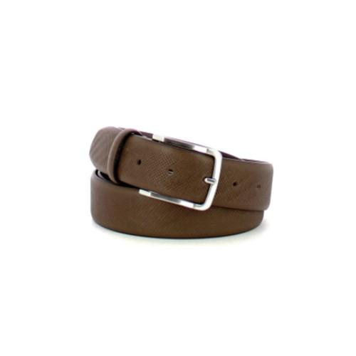 Cinturón de Piel Piquadro CU5266C78/TM Color Marrón