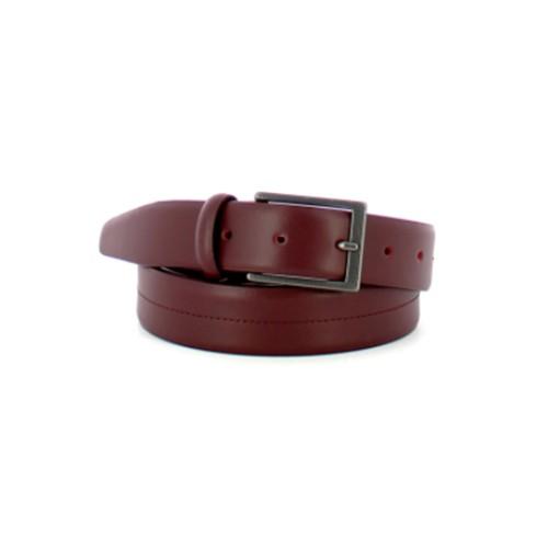 Cinturón de Piel Piquadro CU5264C76/BO Color Burdeos