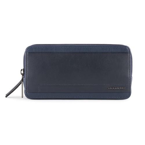 Bolso de Mano de Piel Piquadro AC2141S111/BLU Color Azul...
