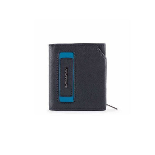 Cartera de Piel Piquadro PU5114W103R/BLU Color Azul Marino