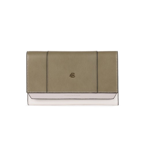 Bolso de Mano de Piel Piquadro AC4707W92R/V Color Kaki /...