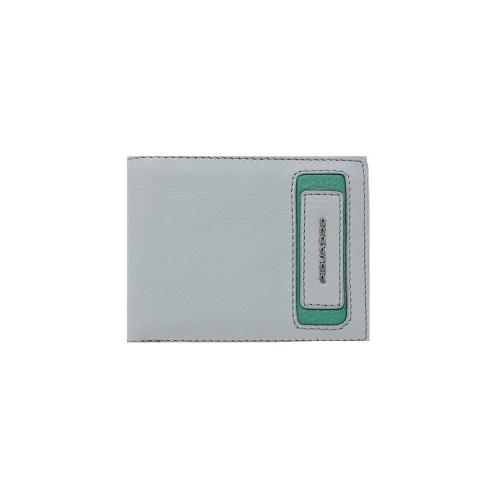 Portafoglio in Pelle Piquadro PU4823W103R/GR Colore Grigio