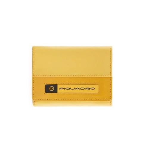 Monedero Piquadro PU4455BIO/G  Color Amarillo