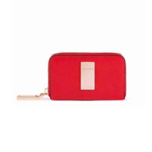 Portachiavi in Pelle Piquadro PC4331DF/R Colore Rosso