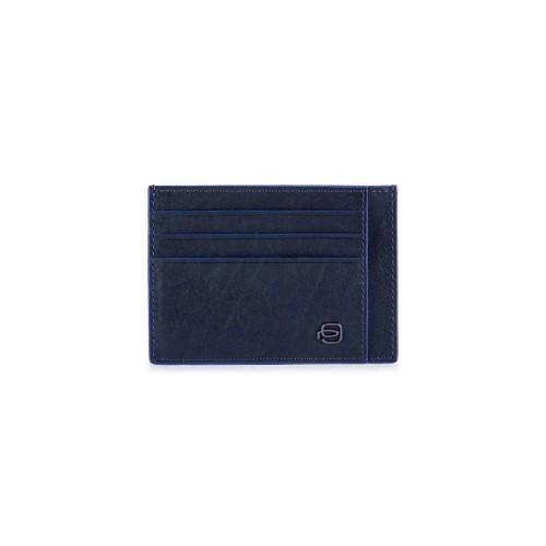 Porte Carte di Credito Piquadro PP2762B2SR/BLU Colore Blu...
