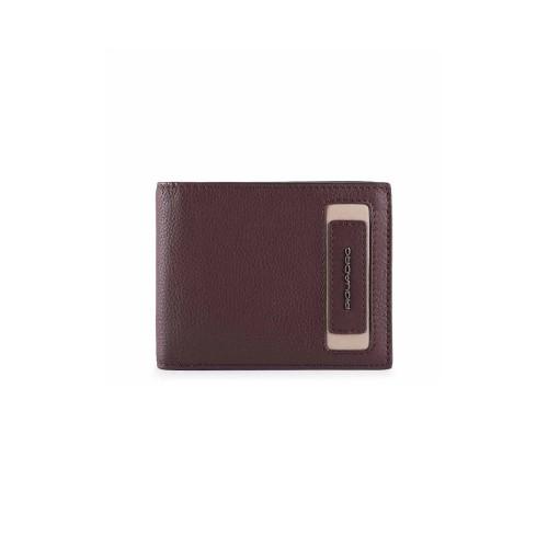 Portafoglio in Pelle Piquadro PU4823W103R/BO Colore Vino...