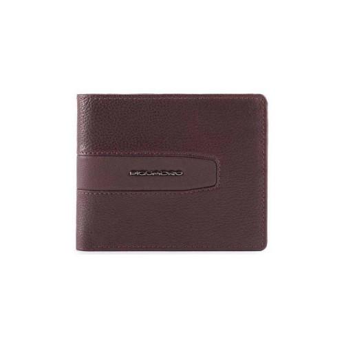 Portafoglio in Pelle Piquadro PU4518W101R/M Colore Melenzana