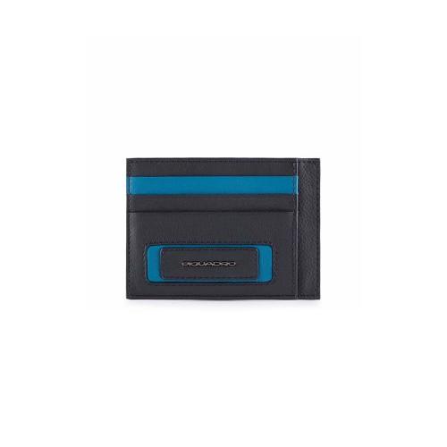Tarjetero de Piel Piquadro PP2762W103R/B Color Azul Marino