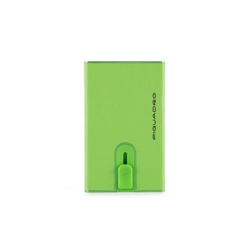 Porta Carte di CreditoPiquadro PP4825EMR/VE Colore Verde
