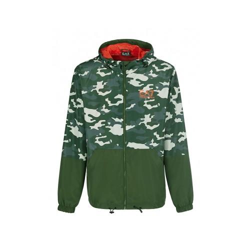 Giacca EA7 Emporio Armani 3KPB06 PN28Z Colore Verde Mimetico