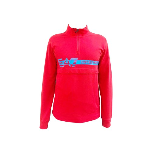 Sudadera EA7 Emporio Armani 3KPM27 PJ05Z Color Rojo