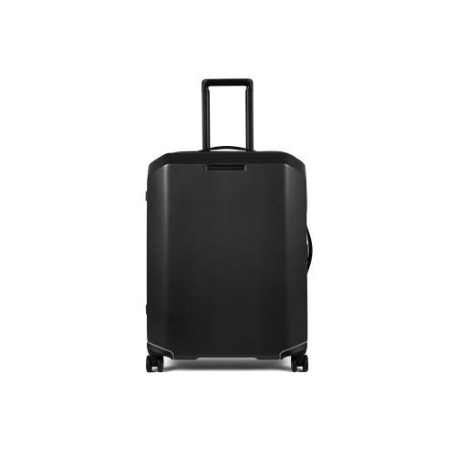 Rigid Cabin Suitcase Piquadro BC4425CBO/N Color Black