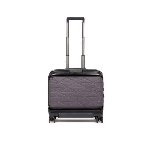 Rigid Pilot Suitcase Piquadro BV5400BIZDBM/N Color Black