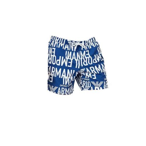 Bañador Boxer EA7 Emporio Armani 211740 1P428 Color Azul...