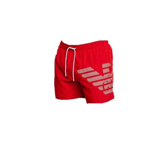 Bañador Boxer EA7 Emporio Armani 211740 1P427 Color Rojo